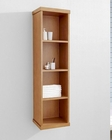 Hewitt 12in Chestnut Side Cabinet by Virtu USA VU-ESC-504-CH