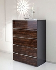 High Gloss Chest in Contemporary Style 33B157