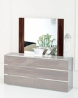High Gloss Mirror in Contemporary Style 33B156