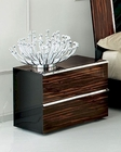 High Gloss Night Stand in Contemporary Style 33B153