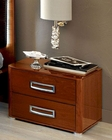 High Gloss Night Stand in Modern Style 33B143