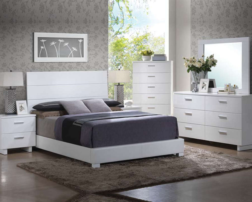 white lacquer bedroom set high gloss white bedroom set lorimar by acme furniture 17845