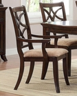 Homelegance Arm Chair Keegan EL-2546A (Set of 2)