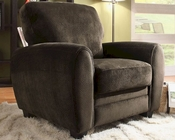 Homelegance Arm Chair Rubin in Chocolate Finish EL-9734CH-1