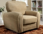 Homelegance Arm Chair Rubin in Light Brown Finish EL-9734BR-1