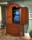 Homelegance Armoire in Warm Cherry Madaleine EL1385-7