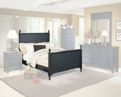 Homelegance Bed in Black Sand Pottery EL875K-1CK