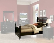 Homelegance Bed in Black Straford EL839K-1CK