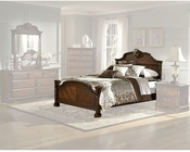 Homelegance Bed in Brown Cherry Legacy EL866FNC-1