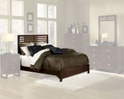 Homelegance Bed in Cherry Paula EL1348KBED