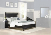 Homelegance Bed in Ebony EL-1356BK-1