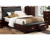 Homelegance Bed Lyric EL-1737NCBED