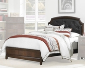 Homelegance Bed w/ Button Tufted Headboard Carrie Ann EL2295BED
