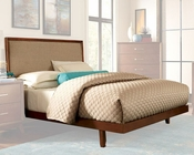 Homelegance Bed w/ Linen Headboard Soren EL2278BED