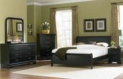 Homelegance Bedroom Set in Black EL-539