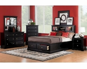Homelegance Bedroom Set in Black Preston EL814BK-1SET