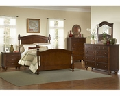 Homelegance Bedroom Set in Brown Cherry Aris EL1422-1SET