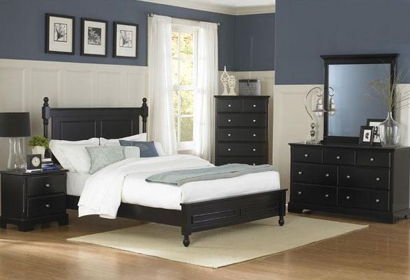 Homelegance Bedroom Set In Ebony El 1356bk