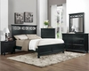 Homelegance Bedroom Set Sanibel in Black EL2119BKSET