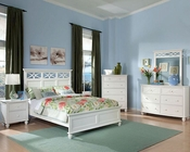Homelegance Bedroom Set Sanibel in White EL2119WSET