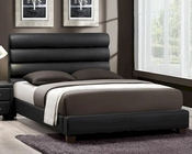 Homelegance Black Platform Bed Aven EL-5795BK-BED