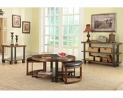 Homelegance Brown Occasional Table Set Northwood EL-3438-01SH-SET