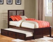 Homelegance Captain's Bed with Trundle Paula ll EL-1348PRDC-1RBED