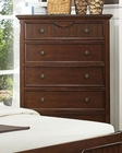 Homelegance Chest in Cherry Alyssa EL-2136C-9