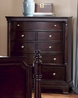 Homelegance Chest Inglewood in Deep Cherry EL1402-9