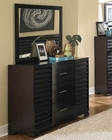 Homelegance Contemporary Dresser and Mirror Curran EL2229-56