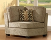 Homelegance Corner Seat Burke Modular in Brown Beige EL-9709CN-CR