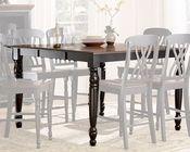 Homelegance Counter Height Table Ohana in 2-Tone Finish EL1393BK-36