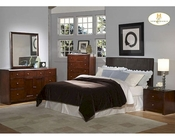 Homelegance Dark Brown Headboard Bedroom Set Copley EL815PU-1SET