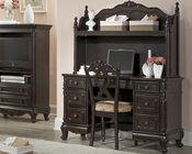 Homelegance Desk and Hutch Cinderella in Dark Cherry EL-1386NC-1011