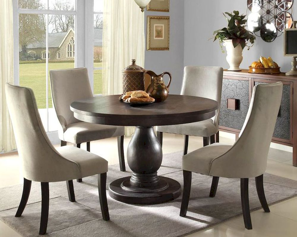 homelegance dining room set dandelion el-2466-48set