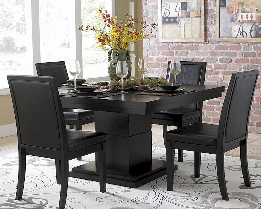 homelegance dining set cicero el 5235 54 set. Black Bedroom Furniture Sets. Home Design Ideas
