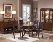 Homelegance Dining Set w/ Round Table Avalon EL1205-48SET