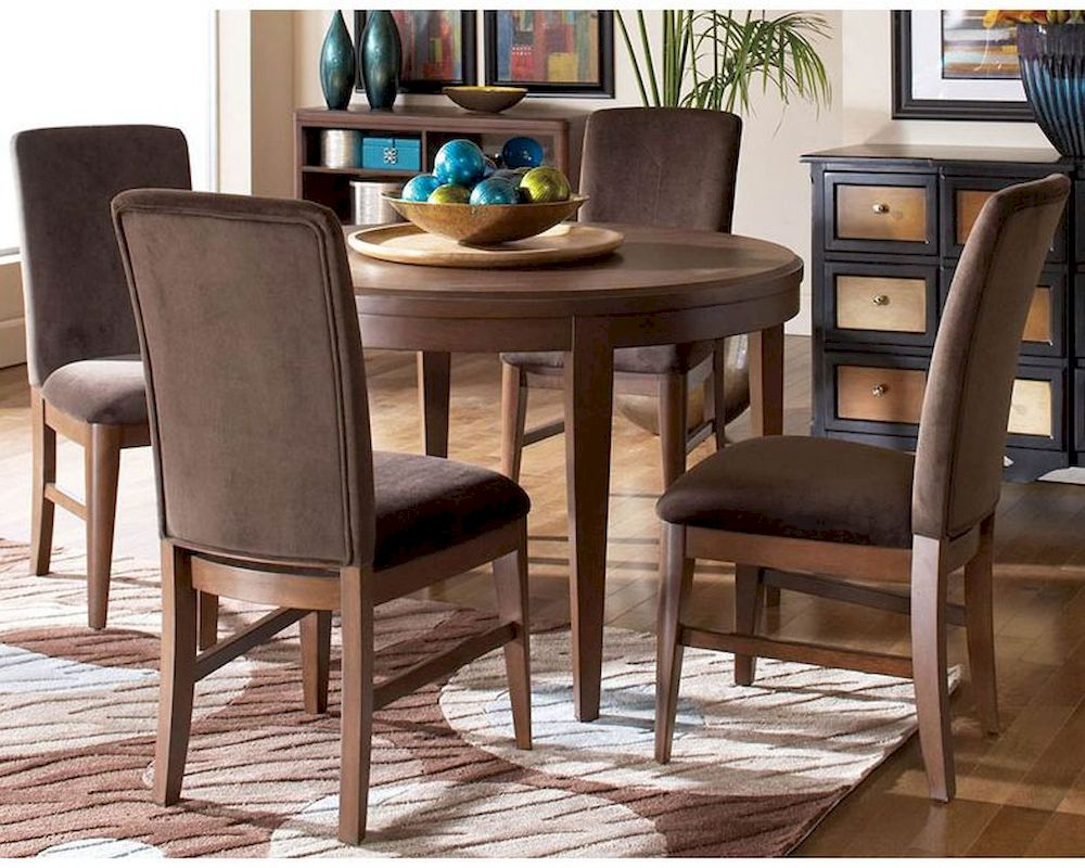 Homelegance Dining Set W Round Table Beaumont El 2111 48 Set