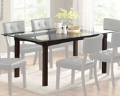 Homelegance Dining Table Clarity EL-2623-72