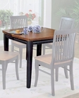 Homelegance Dining Table Liz in Black and Cherry Finish EL-764