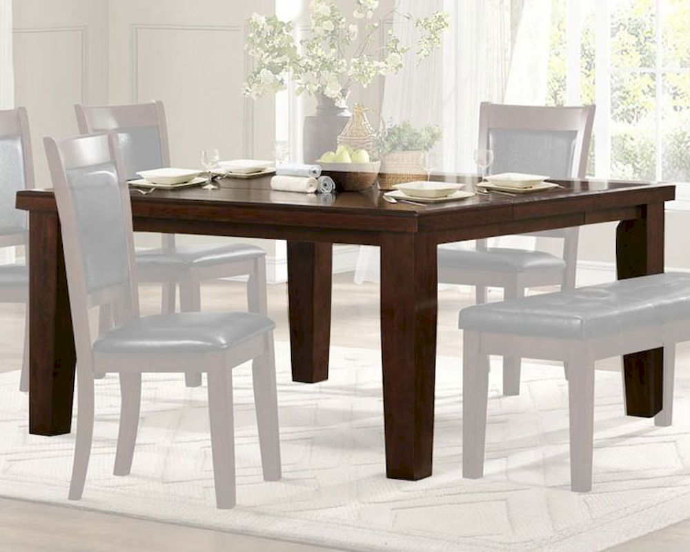 Homelegance dining table weldon el 2622 for Table weldom