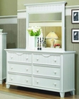 Homelegance Dresser and Mirror Alyssa EL-2136W-6