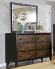 Homelegance Dresser and Mirror Arcola EL2277-56