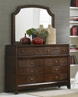 Homelegance Dresser and Mirror Carrie Ann EL2295-56