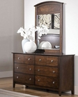 Homelegance Dresser and Mirror Cody EL1732-56