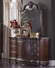 Homelegance Dresser and Mirror Deryn Park EL2243-56