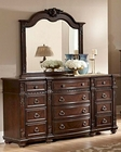 Homelegance Dresser and Mirror Hillcrest Manor EL-2169-6
