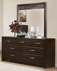 Homelegance Dresser and Mirror Hilson EL-2216-6