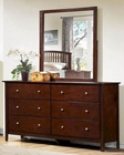 Homelegance Dresser and Mirror Nancy EL-2215-6
