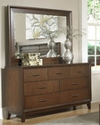 Homelegance Dresser and Mirror Oliver EL-2189-56